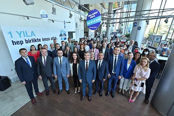 Türkiye Sigorta, kuruluşunun 1'inci yılını paydaşlarıyla kutladı