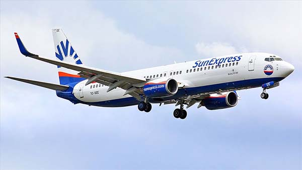 SunExpress iç hat uçuşlarına 4 Haziran'da başlıyor
