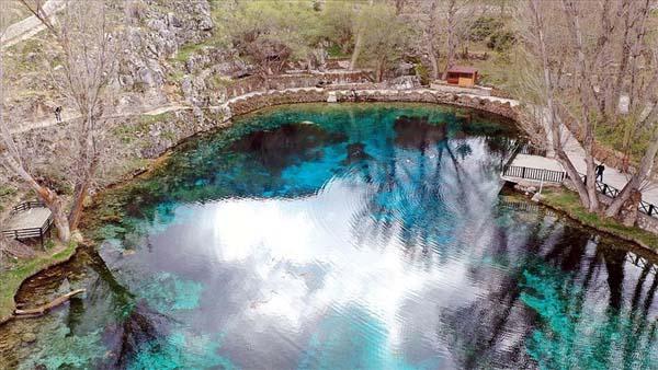 'Kesin korunacak hassas alan' ilan edilen doğal akvaryum Gökpınar Gölü, cazibe merkezi olacak