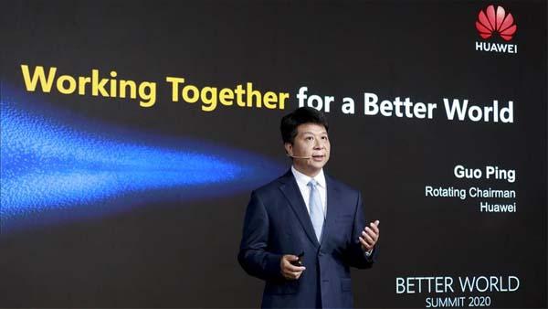 Huawei CEO'su Guo Ping: