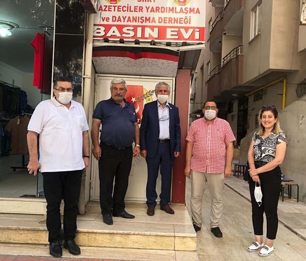 Siirt Basın Evi kapılarını gazetecilere açtı