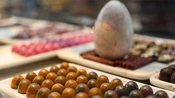 Türkiye'nin 'en tatlı' projesinde çikolata üretimi ve satışı başladı