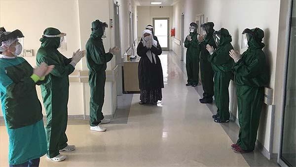 Türkiye'de Kovid-19 tedavisi tamamlananların sayısı 171 bin 809'a ulaştı