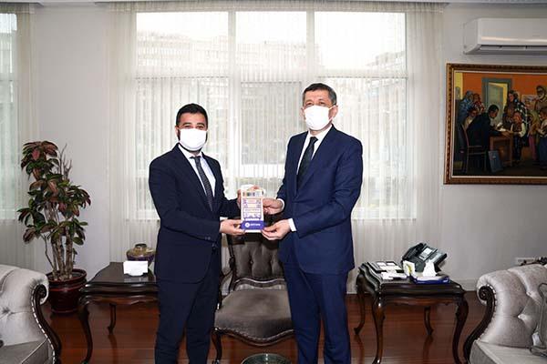 Başkan Öztekin'den Bakan Selçuk'a ziyaret