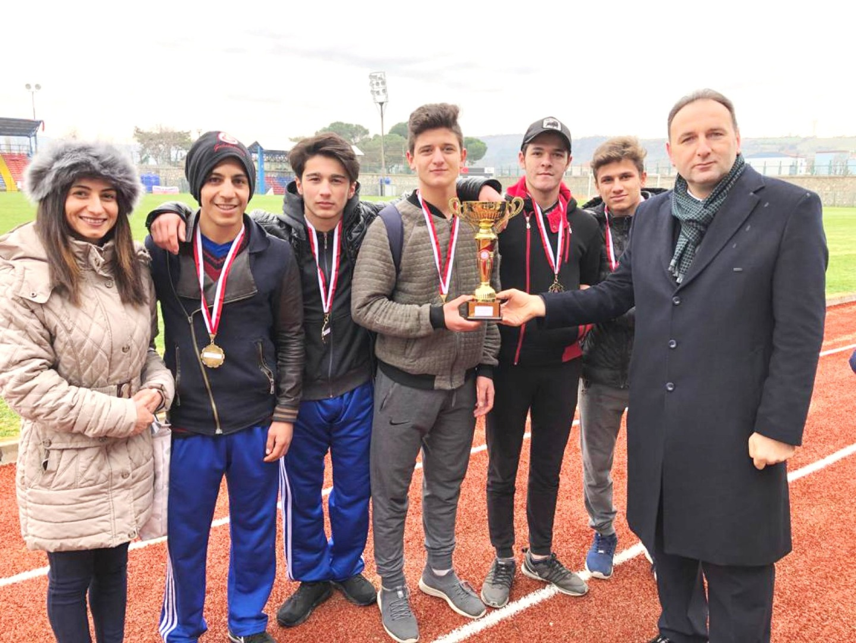Liseler Arası Atatürk Koşusu Tamamlandı