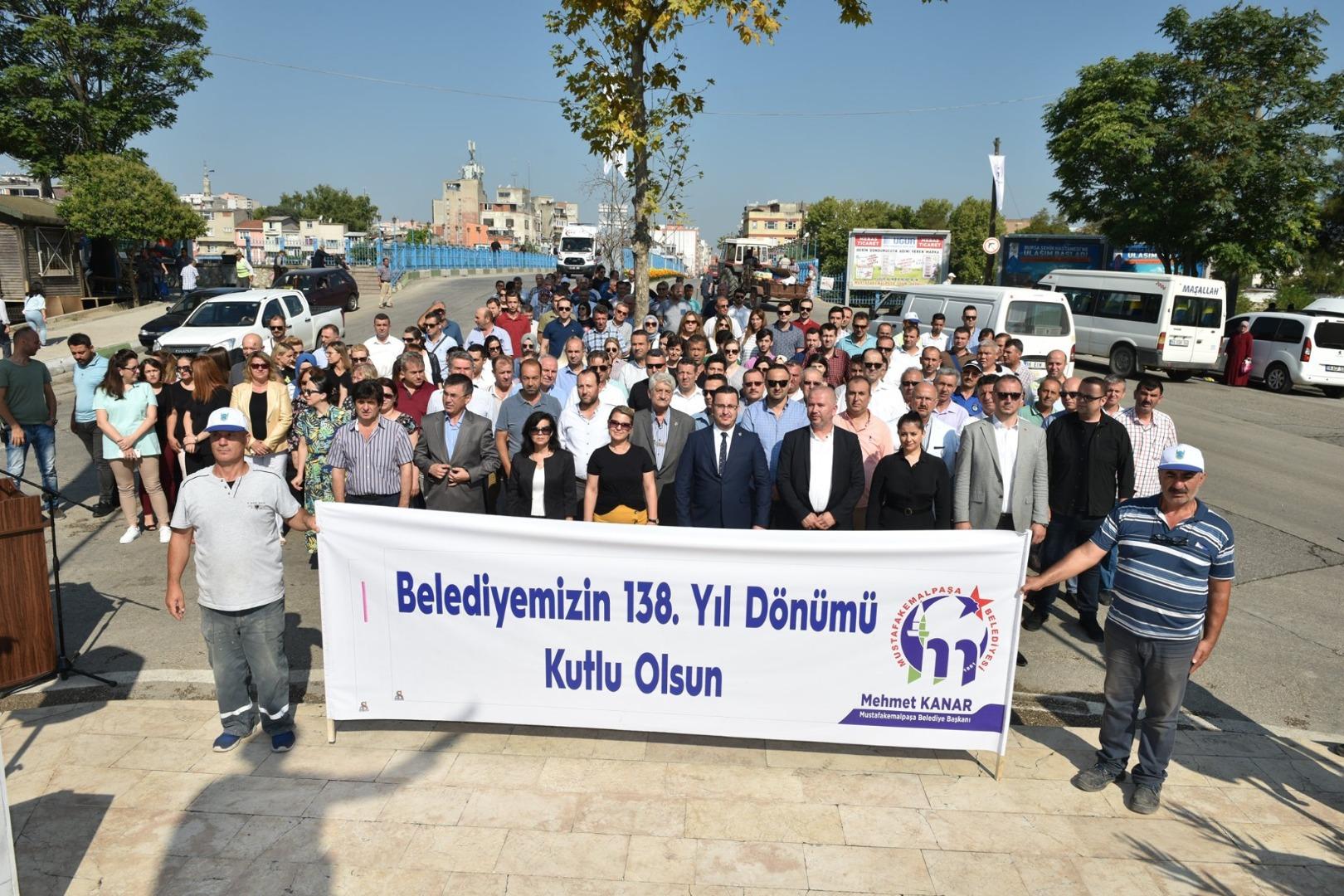 Mustafakemalpaşa Belediyesi 138 yaşında