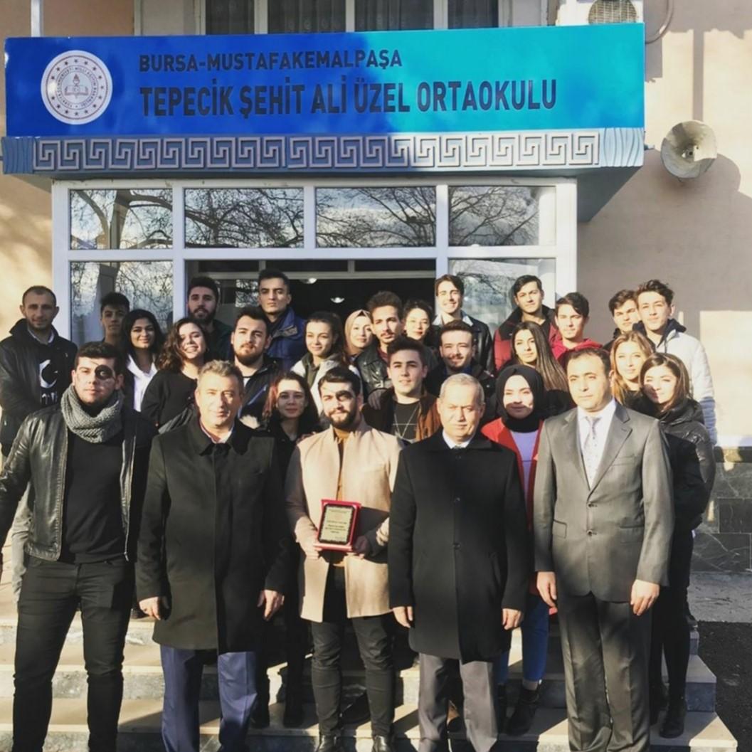 İyilik Bulutu Öğrencileri Mustafakemalpaşa'da
