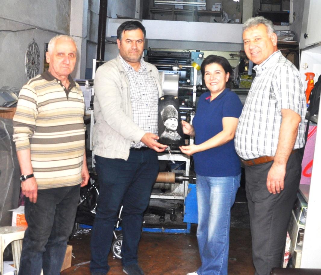 Gülcan Çelik'ten Gazetemize Ziyaret