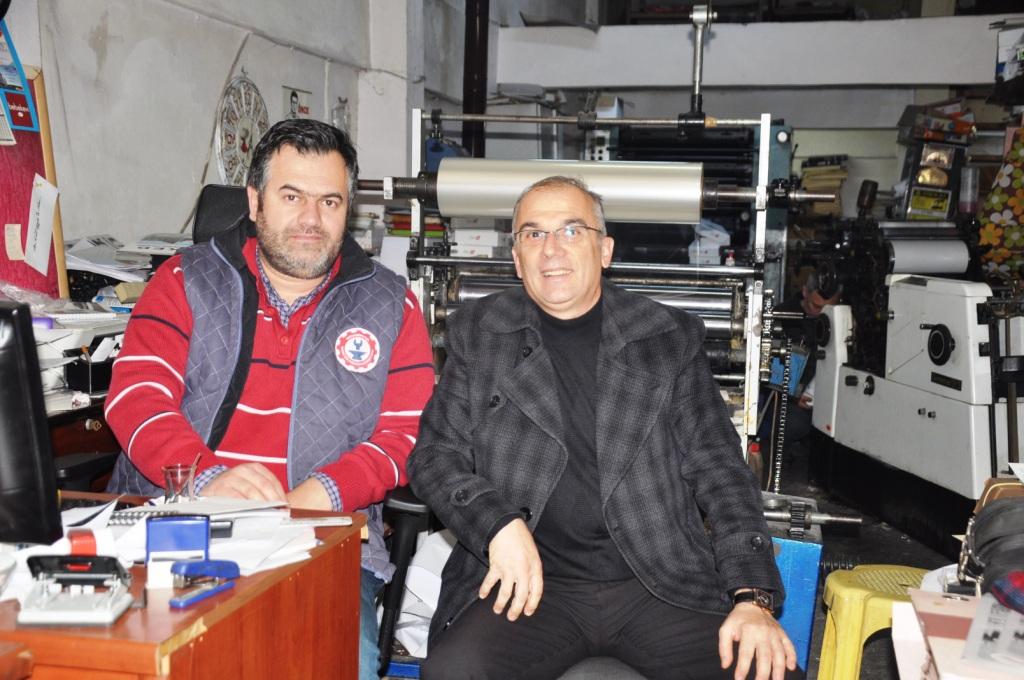 Akkoyunlu'dan Gazetemize Ziyaret