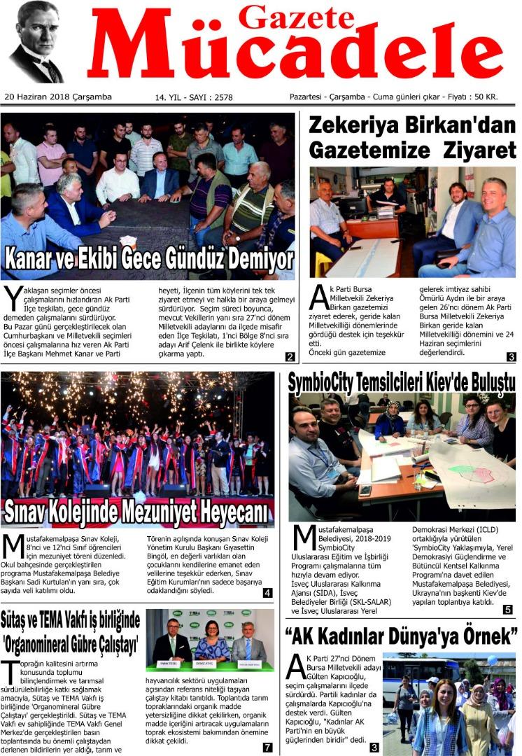 Mücadele Gazetesi