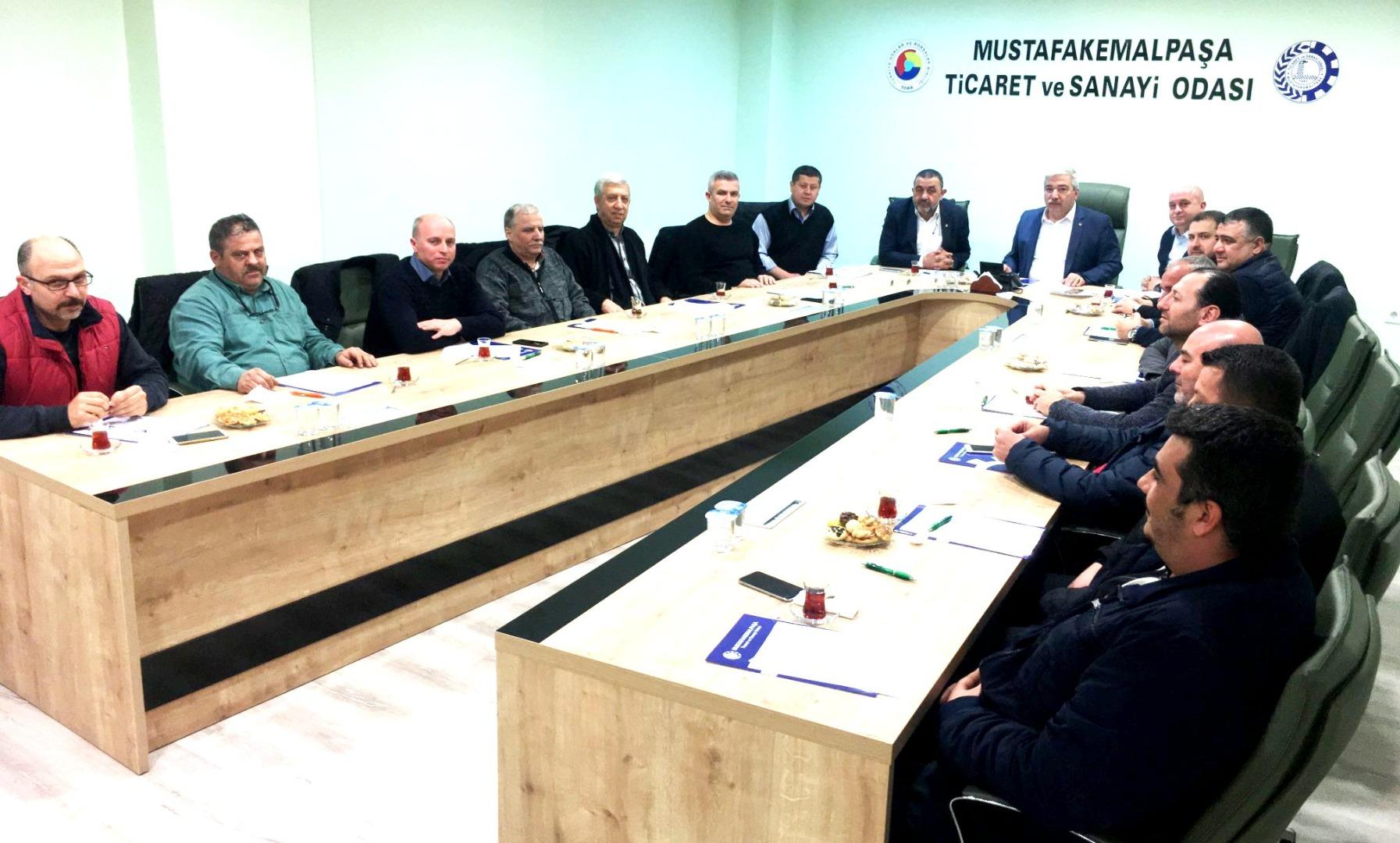 TSO'da Meslek Komitesi Toplantısı Yapıldı