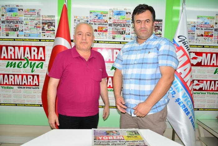 Mücadele Gazetesi'nden Yeni Marmara'ya Ziyaret