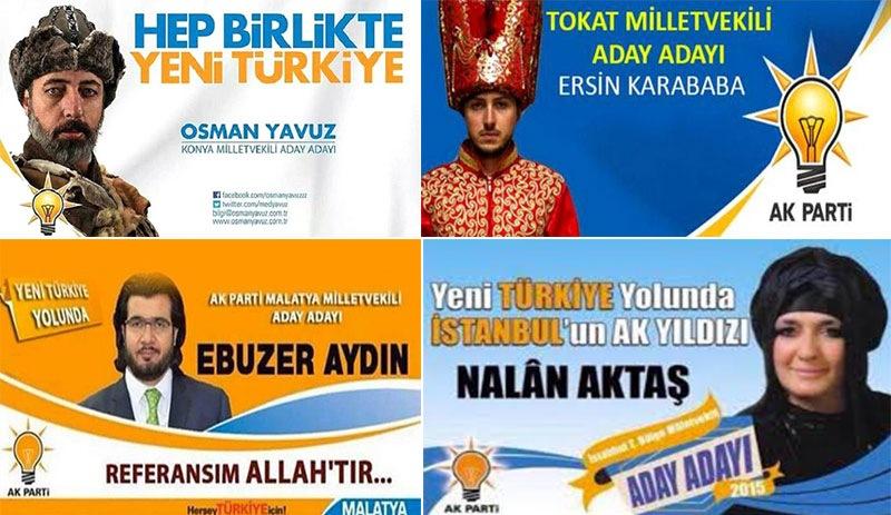 Erdoğan seçim afişlerinden vazgeçtiklerini açıkladı