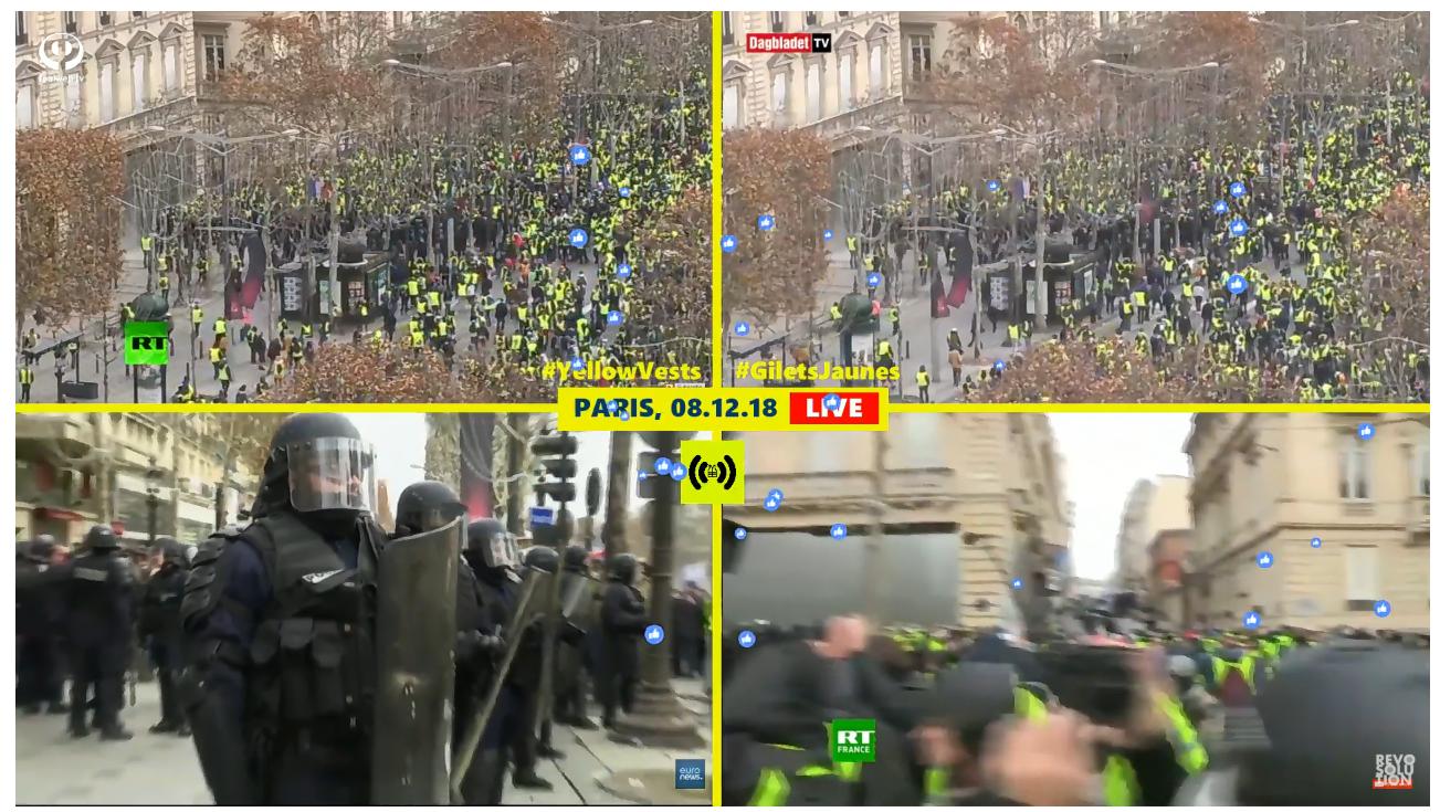 Canlı Yayın: Paris''te, ''Sarı Yelekler'' Büyük Protestosu