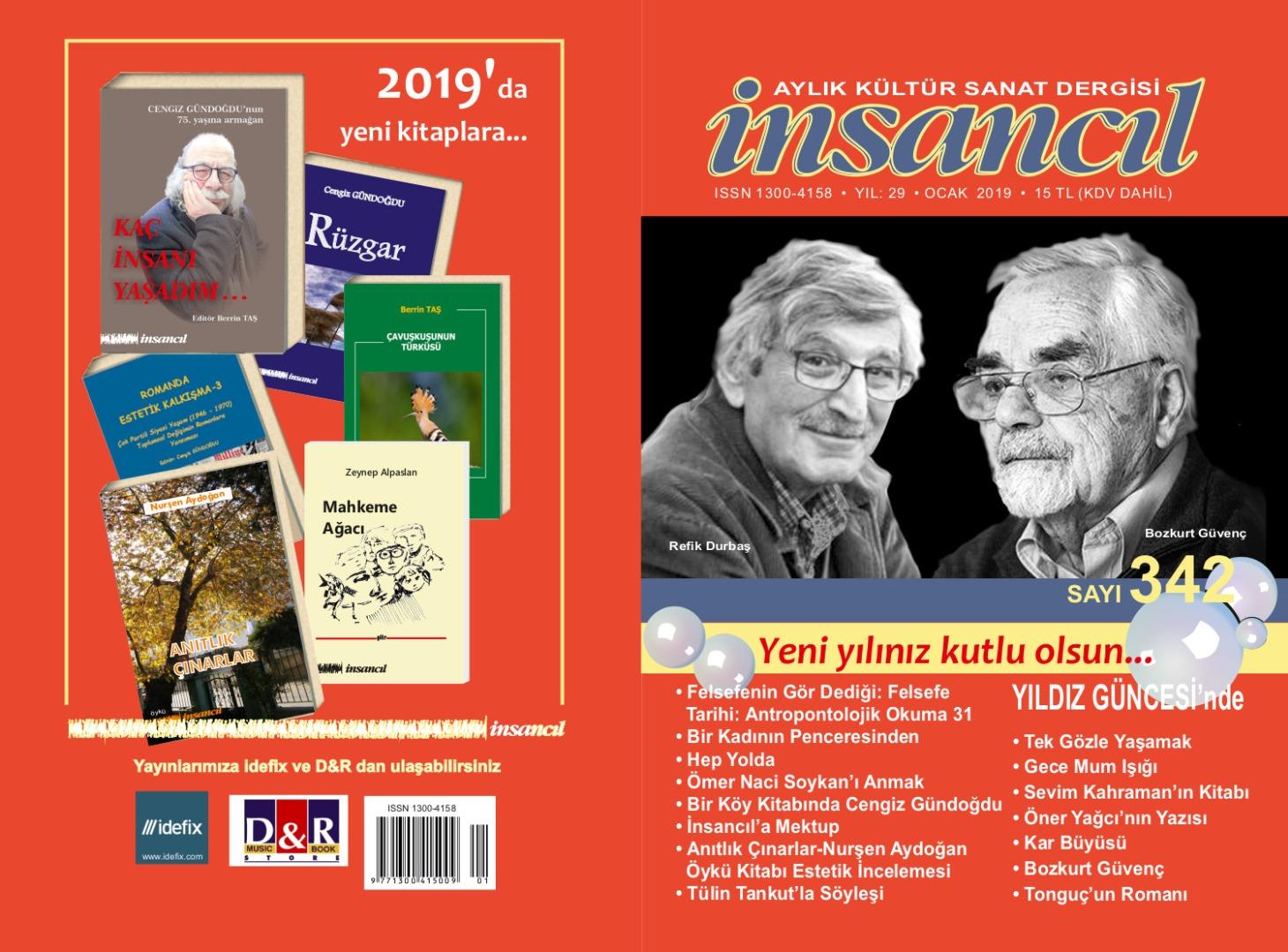 İnsancıl Dergisi''nin yeni sayısı çıktı
