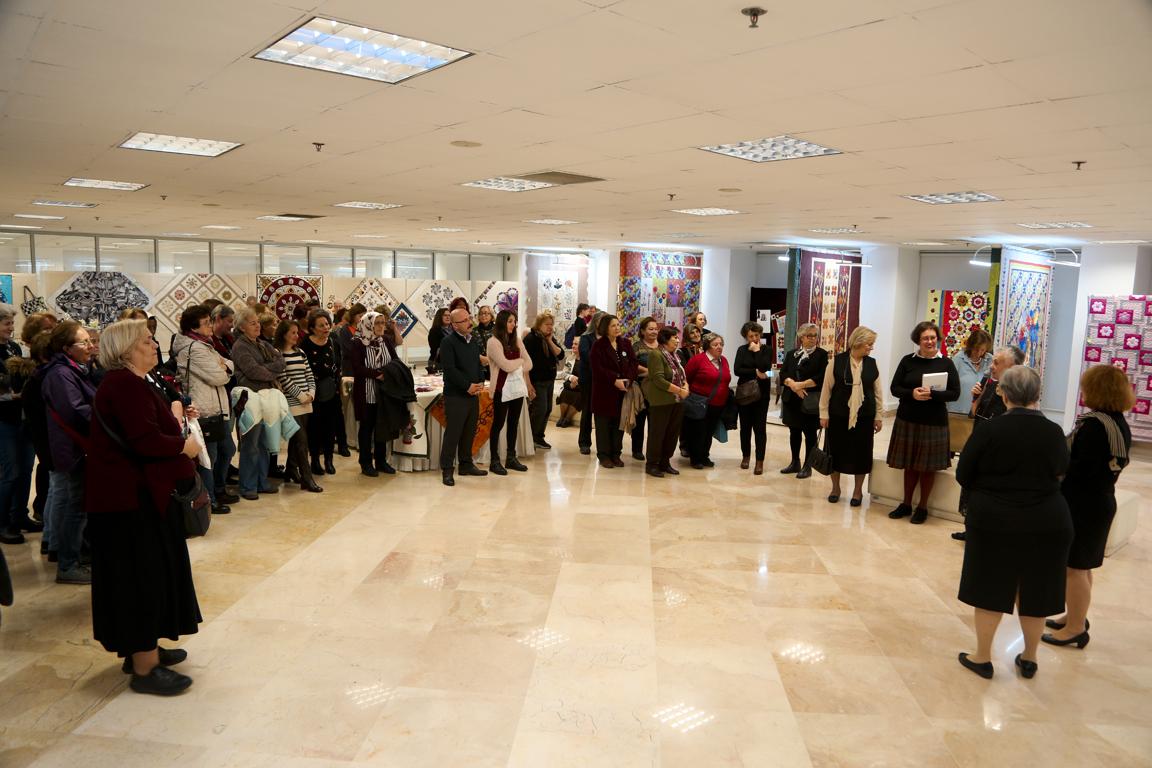 ''Kırkyama ve Sabır'' isimli sergi Maltepe'de açıldı