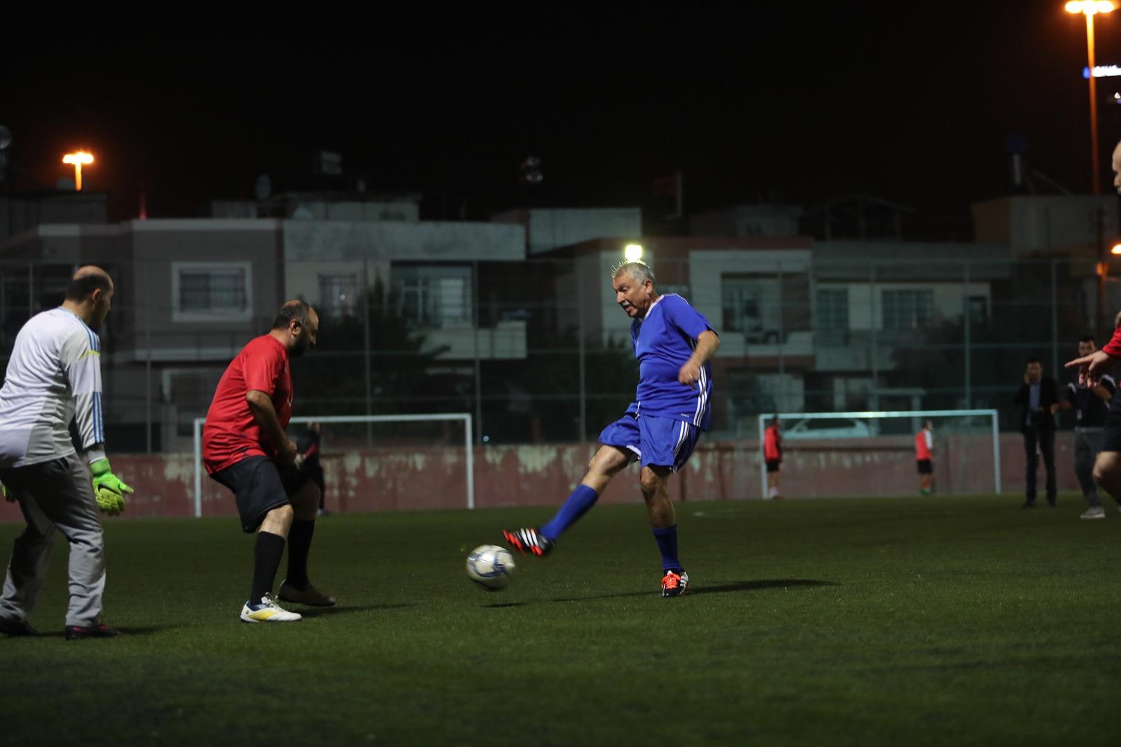 Ali Gülleri Veteran Futbol Turnuvası Başladı…