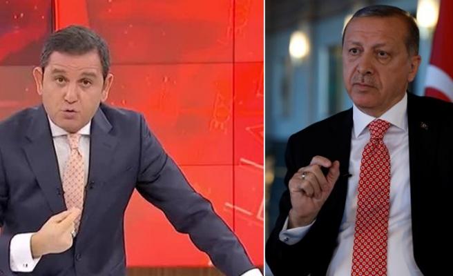 Erdoğan''dan Fatih Portakal''a tehdit: Portakal mıdır, mandalina mıdır, haddini bilmezsen patlatırlar enseni