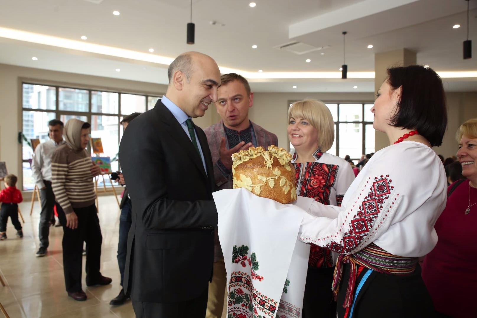 Cemevi ve Kültür Merkezi Ukrayna Konsolosluğu''nda etkinlik yaptı