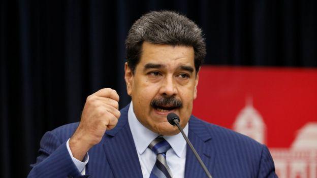 Maduro: Bizden 30 milyar çalanlar 20 milyonluk çürümüş gıda öneriyorlar
