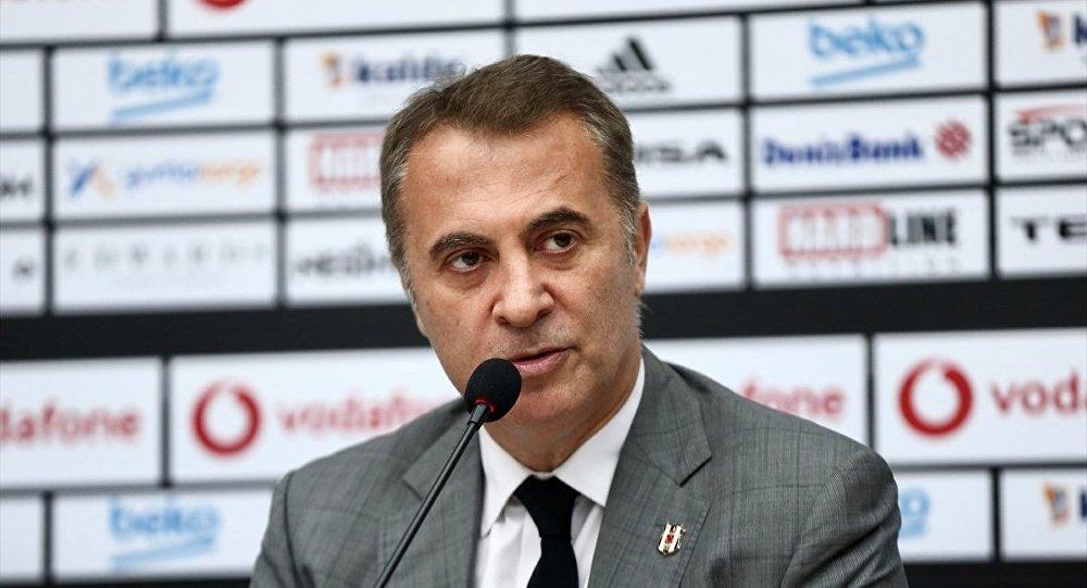 Beşiktaş Başkanı Orman''dan TFF''ye derbi eleştirisi: Ne bize ne de Fenerbahçe''ye soruldu