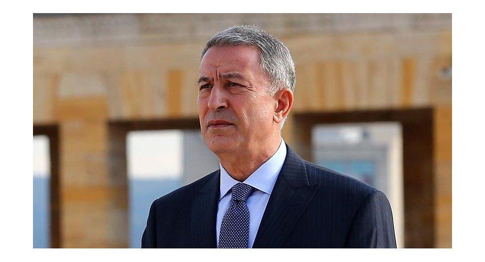 Milli Savunma Bakanı Akar''dan Menbiç açıklaması