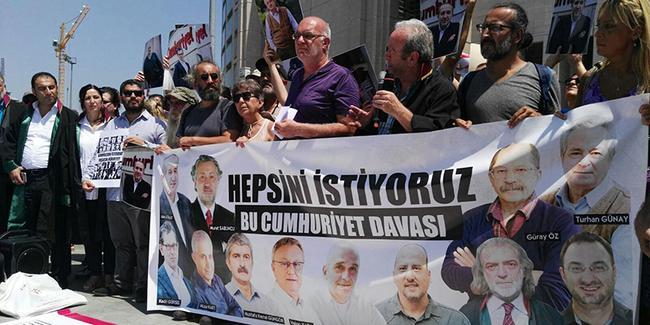 'Dışarıdaki Gazeteciler'den çağrı: #GazetecilikSuçDeğildir