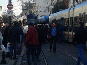 Beyazıtta tramvay kazası: 1 ölü