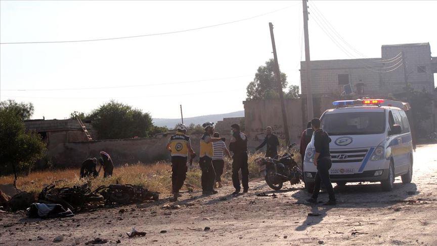Idlib'e hain saldırı: 4 ölü