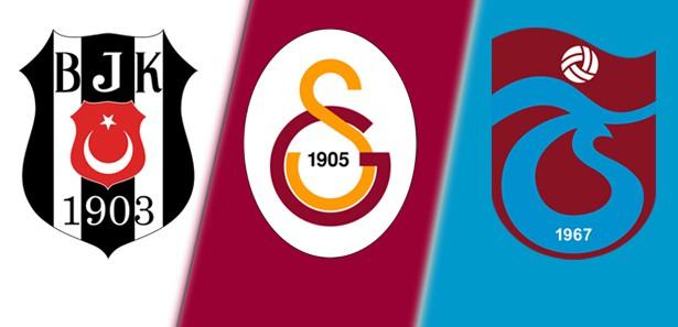 Beşiktaş, Galatasaray ve Trabzonspor PFDK'ya sevk edildi