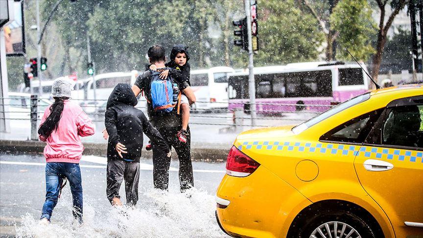 O bölgelere şiddetli yağış uyarısı!