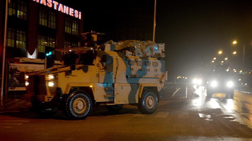 Suriye sınırına yeni askeri sevkiyat