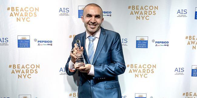 New York'un ünlü Türk pizzacısı ödül aldı!