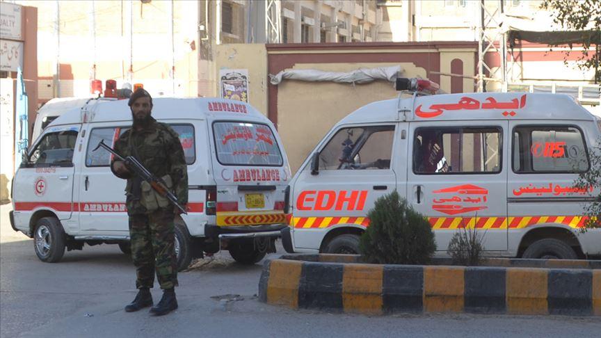 Pakistan'da 5 yıldızlı bir otele saldırı düzenlendi