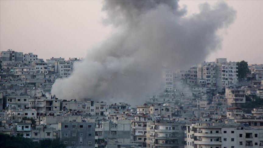 İdlib'de iftar öncesi katliam:5 ölü 20 yaralı