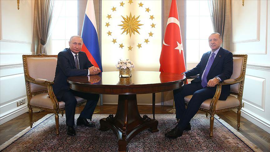 Başkan Erdoğan Putin ile bir araya geldi