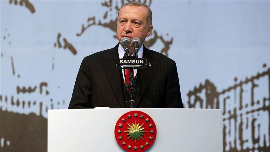 Bizim kızıl elmamız da güçlü Türkiye'nin inşası