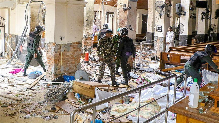 Sri Lanka'da otel ve kiliselere bombalı saldırı