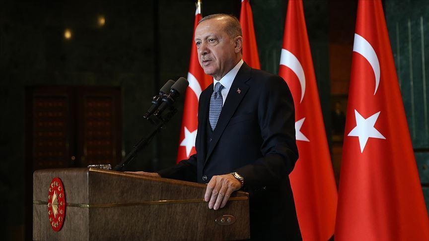 Erdoğan'dan İmamoğlu'na tebrik mesajı