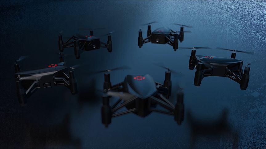 'mikro drone timi' göreve hazır