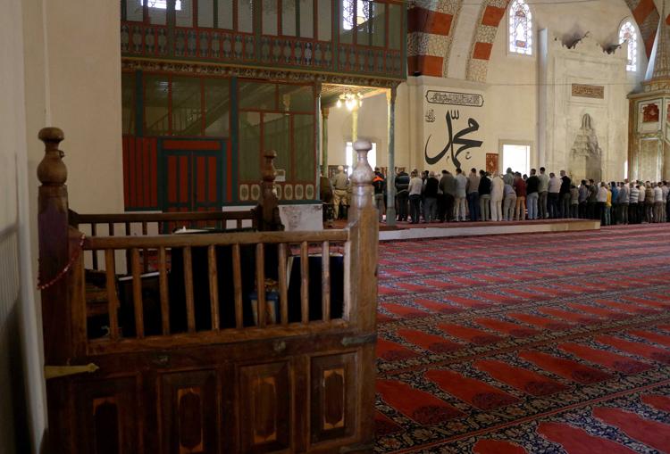 Hacı Bayram Veli'nin hatırası özenle korunuyor