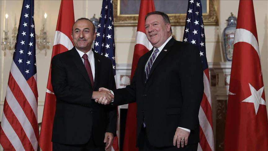 Dışişleri Bakanı Mevlüt Çavuşoğlu, ABD Dışişleri Bakanı Mike Pompeo ile telefon görüşmesi gerçekleştirdi.