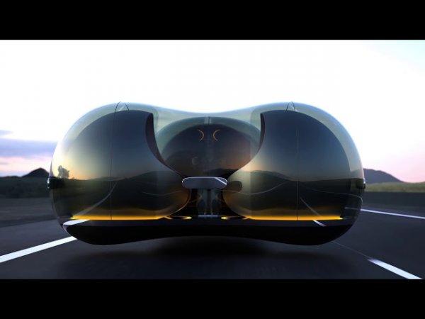 Uçan otomobilin görüntüsü ilk kez paylaşıldı