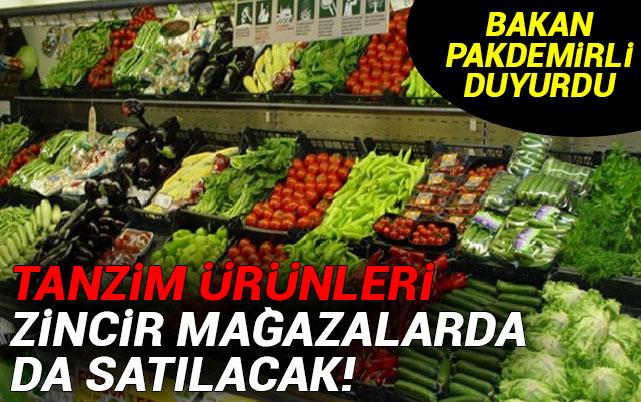 cd32af0d92194 Tanzim ürünleri zincir mağazalarda da satılacak! - Ekonomi haberleri