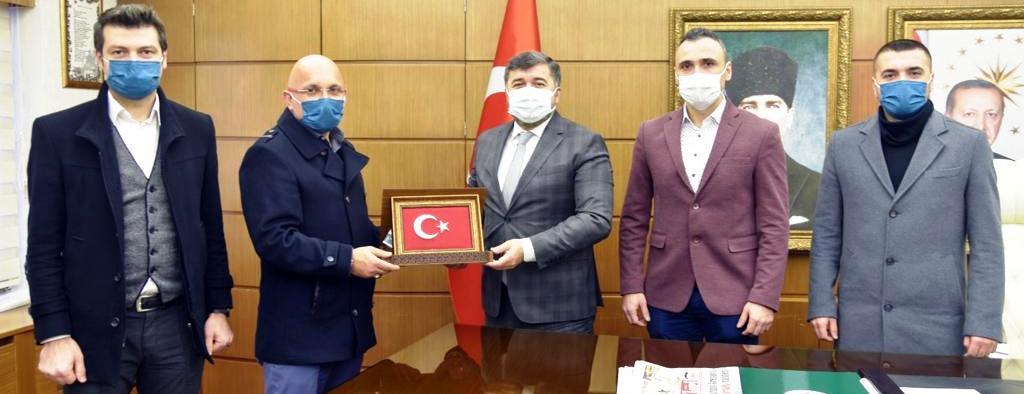 BEM-BİR-SEN'DEN ŞENLİKOĞLU'NA ZİYARET