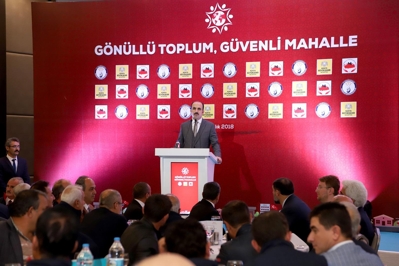 Başkan Altay: Konya Bir Gönüllüler Şehri