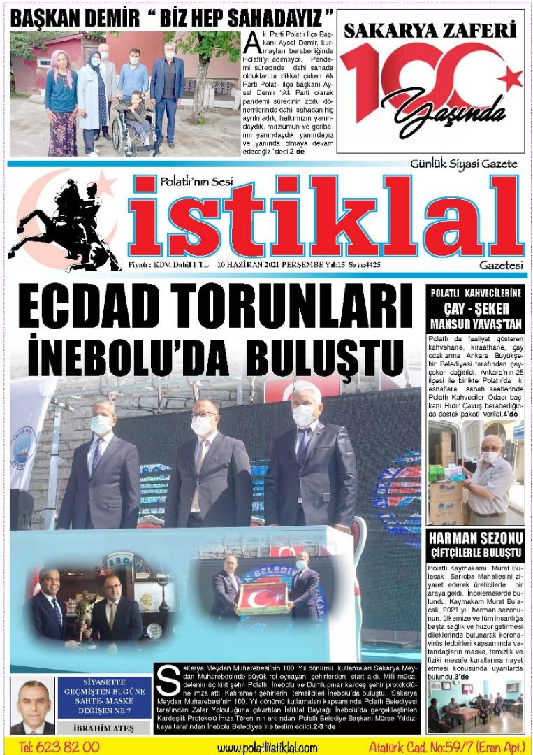10 Haziran İstiklal Gazetesi