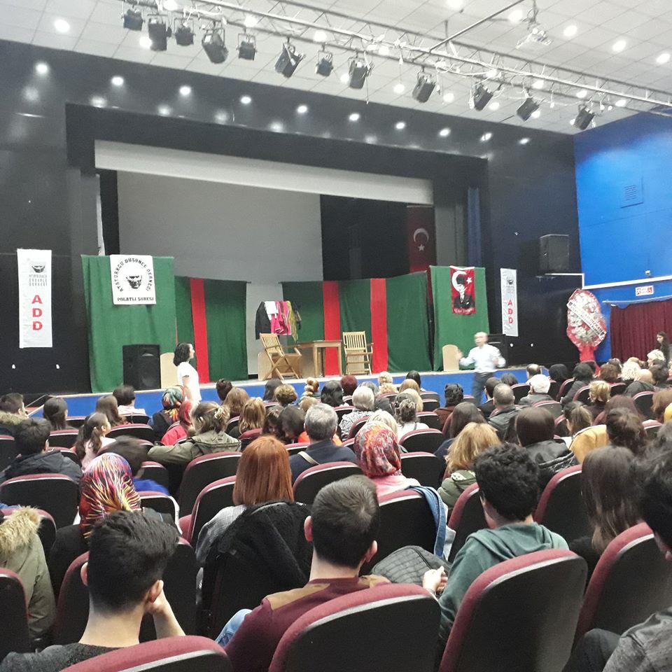 İNSAN GİBİ İSİMLİ TİYATRO OYUNU POLATLI'DA PERDE AÇIYOR