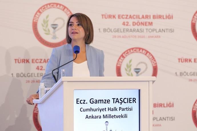 TAŞÇIER''SAĞLIK ÇALIŞANLARIMIZ ALKIŞ DEĞİL MESLEK HASTALIĞI KAPSAMI İSTİYOR ''