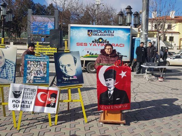 """HATİPOĞLU """" ATATÜRK'ÜN ASKERİ, KALPAKSIZ KUVAYİİ MİLLİYECİ"""